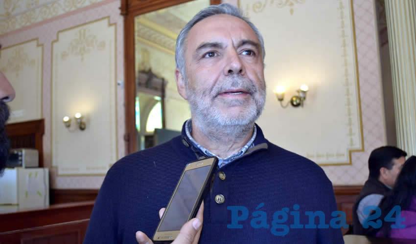 Alfonso Ramírez Refiere Logros en Incremento de Participaciones Para Estados y Municipios