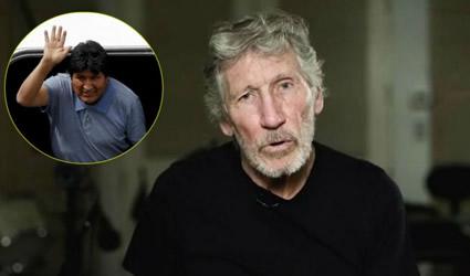 """""""Espero que tu Exilio sea Corto, tu Gente te Necesita"""": Roger Waters a Evo Morales"""