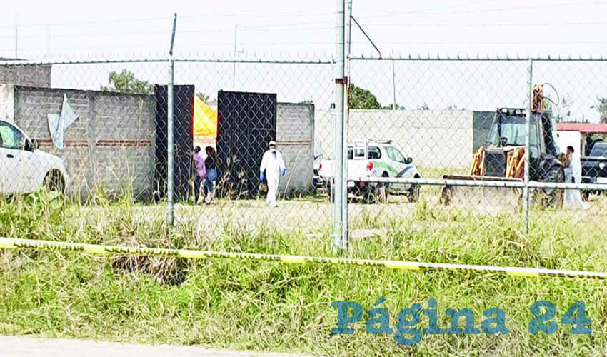 Un vecino reportó el hallazgo a la policía de Tlajomulco/Fotos: Especial