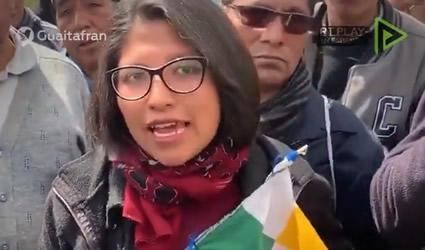 Contundente Discurso de una Mujer Indígena de lo que Realmente Sucede en Bolivia