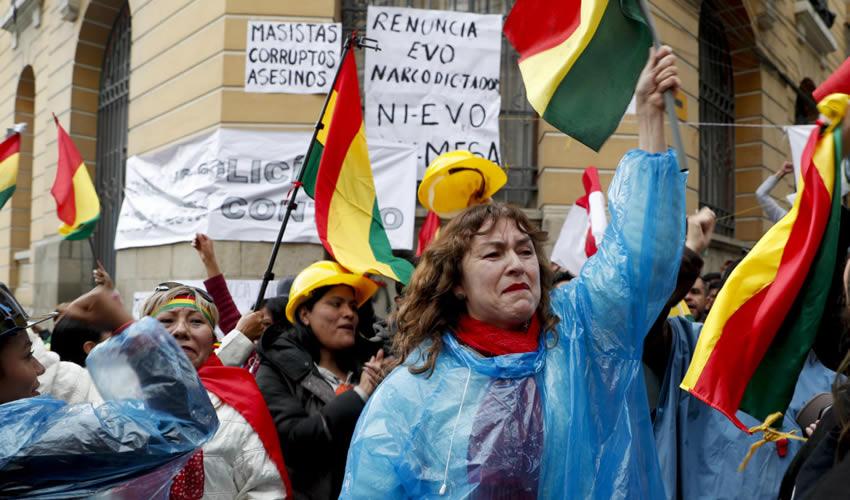 Cuando Evo Morales Perdió la Calle… y También la Presidencia