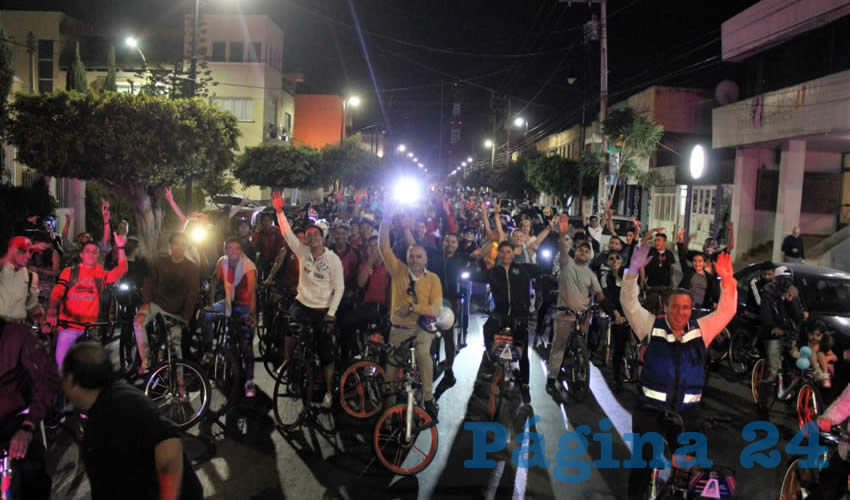 """Municipio Convoca a la Rodada  Nocturna """"¡Viva la Revolución!"""""""