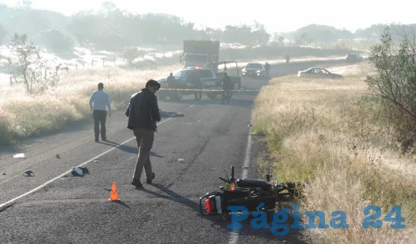 Se Mata Motorista en la Carretera 40