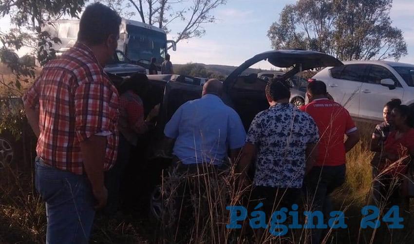 El fatal accidente, producto del exceso de velocidad, se registró sobre la carretera federal 71