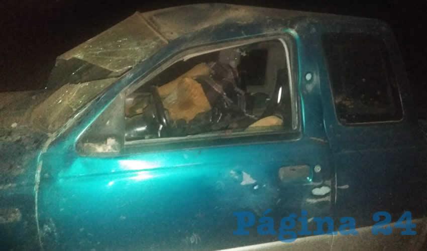 El conductor, que iba a bordo de una camioneta Ford F150, aún no se sido identificado