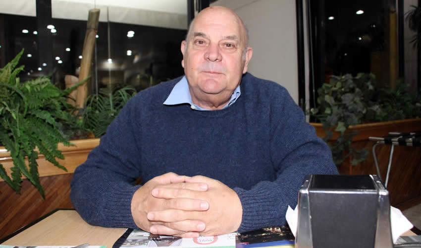 Rodolfo Pablo Buenaventura, miembro de la Academia Latinoamericana de Educación Física (Foto Rocío Castro Alvarado)