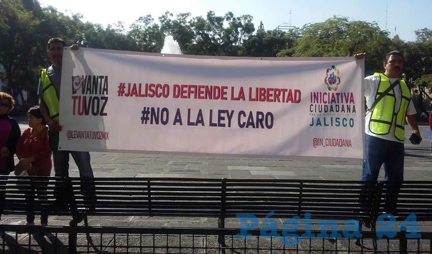 """""""La ley Caro no es progreso"""""""