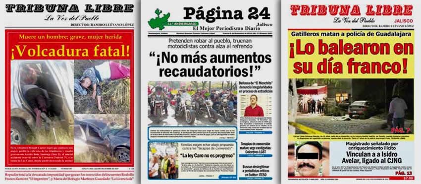 TRIBUNA LIBRE roja ...13 años... Página 24 Jalisco ...11 años... TRIBUNA LIBRE Jalisco ...11 años...