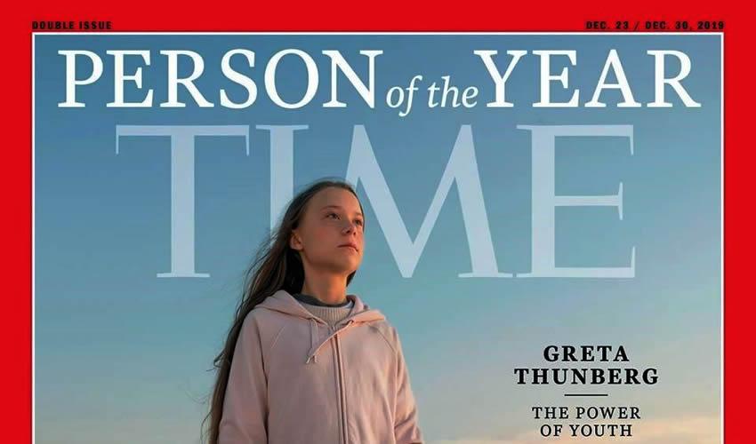 Greta Thunberg es Nombrada la Persona del año por la Revista Time