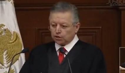Informe de Ministro de la Suprema Corte Arturo Zaldívar