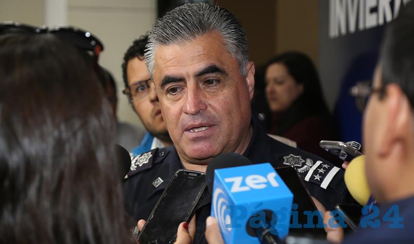 Antonio Martínez Romo, titular de la SSPM (Foto: Archivo)