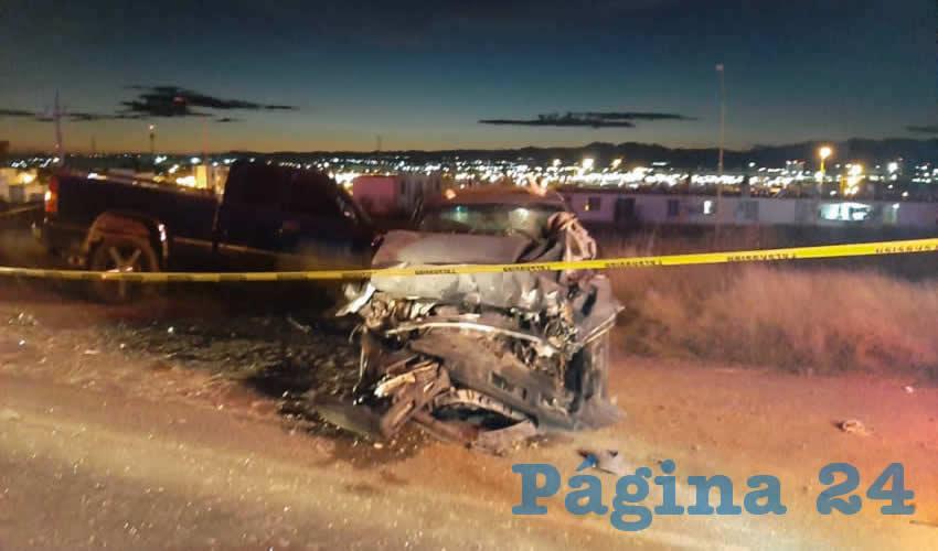 En la carretera estatal 110, tramo Los Arellano-Las Violetas, se produjo el sangriento accidente