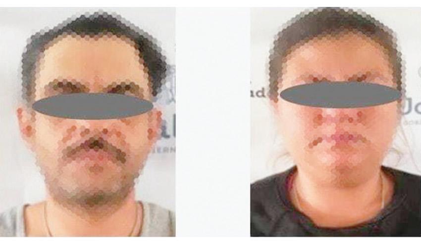 """Juez dictó como medida cautelar prisión preventiva de un año contra José Luis """"N"""" de 40 años y María del Rosario """"N"""", de 26/Fotos: Cortesía"""