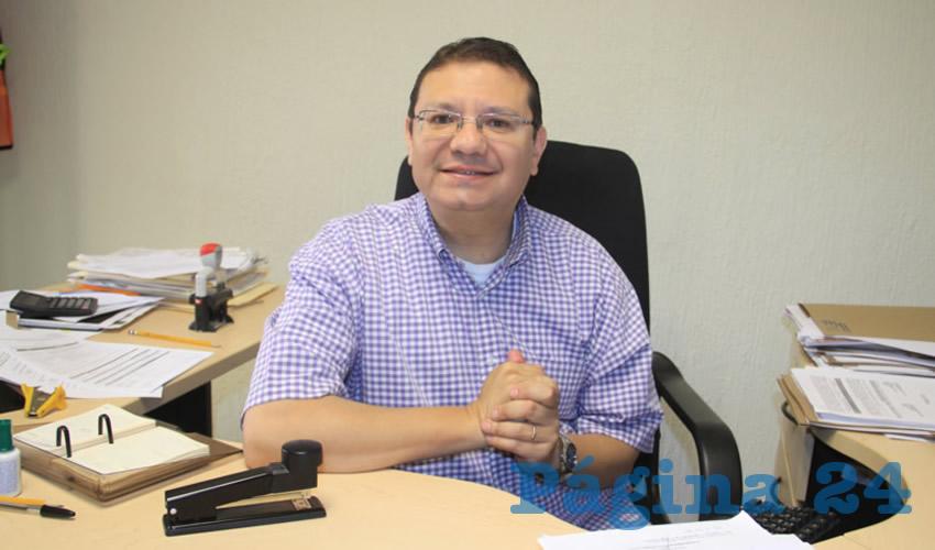 Saúl Hurtado Rizo, delegado de la Comisión Nacional para la Protección y Defensa de los Usuarios de Servicios Financieros (Condusef) en Zacatecas (Foto Archivo Página 24 Zacatecas)