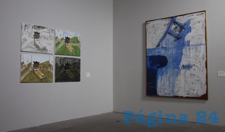 Esta exhibición artística es realizada por varios artistas de índole internacional, nacional y local, quienes con distintas técnicas y conceptos del arte representan en sus obras el paisaje cotidiano (Foto Rocío Castro Alvarado)