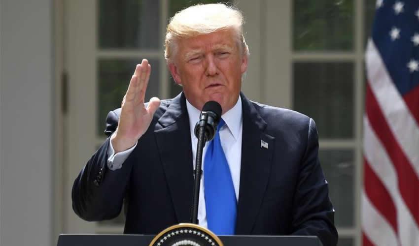 Actuamos Para Detener una Guerra, no Para Iniciarla: Trump