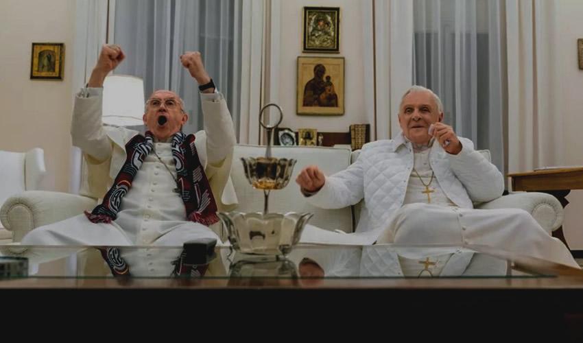 """Escena de """"Los dos Papas"""" (Foto: Cortesía/Netflix)"""