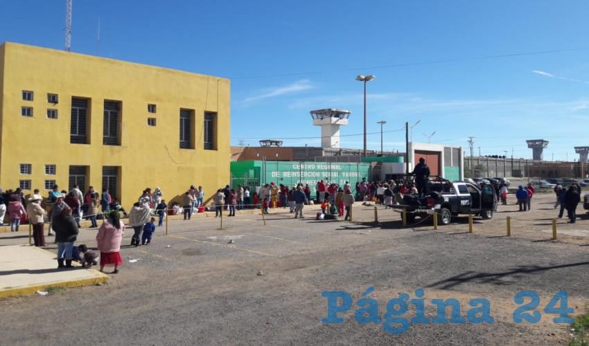 El Centro Regional de Reinserción Social (CERERESO) ubicado en la comunidad de Cieneguillas, Zacatecas (Foto: Archivo/Página 24 Zacatecas)