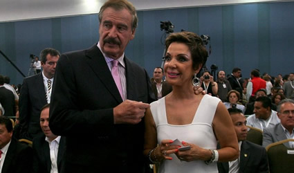 Vicente Fox y Martha Sahagún Todavía Viven del Erario Público