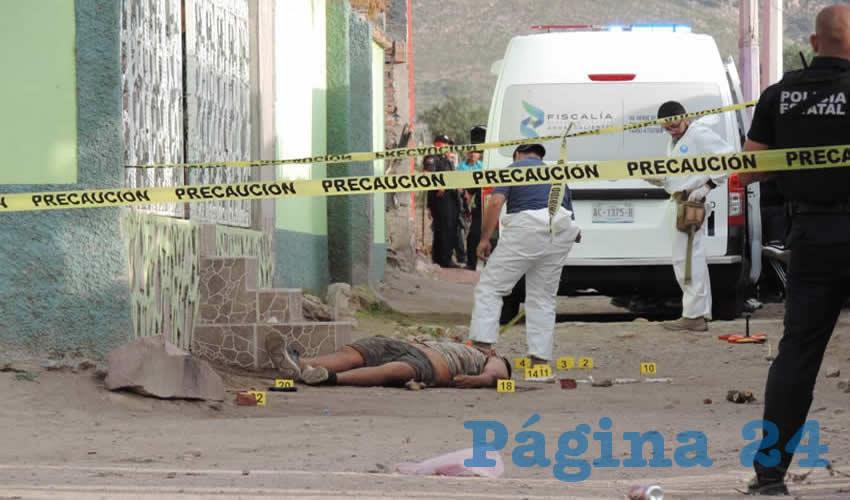 Juan Diego Núñez Rodríguez salió de su domicilio para enfrentar a balazos a uniformados, quienes respondieron en la misma tónica y le quitaron la vida