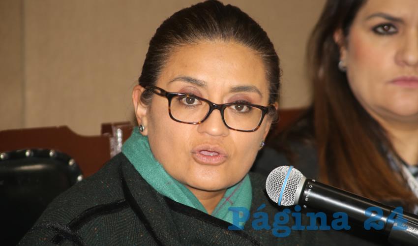 Aleida Alavez Ruiz, diputada federal (Foto: Eddylberto Luevano Santillan)