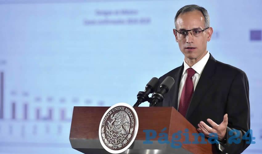 Hugo López-Gatell,subsecretario de Promoción y Prevención de la Salud (Foto: Archivo/Cuartoscuro)
