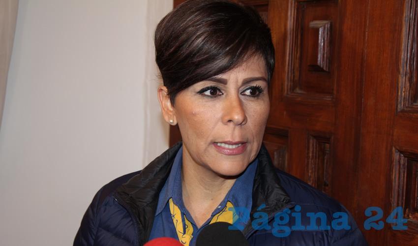 Susan Cabral Bujdud, presidenta de la Asociación Mexicana para Niños con Cáncer (Amanc) de Zacatecas (Foto Rocío Castro)
