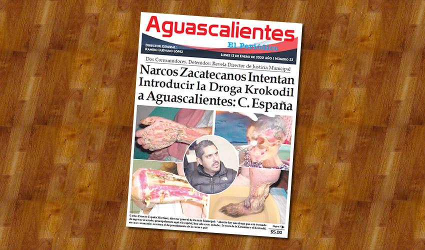 Carlos España da la alerta ...la peligrosa droga...