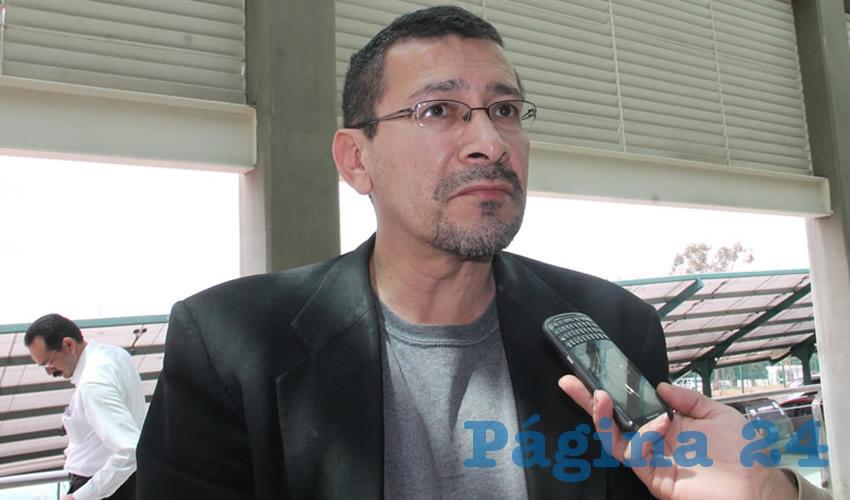 Gerardo Mata Chávez (Foto: Rocío Castro Alvarado)