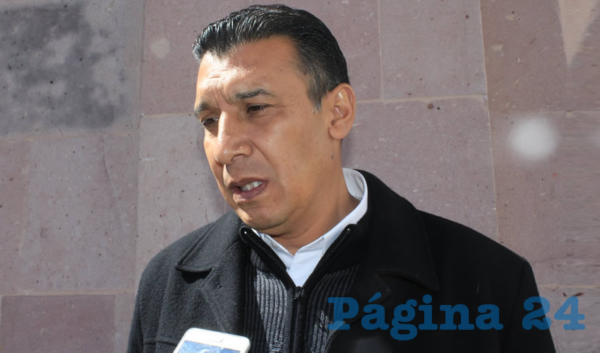 Adolfo Márquez Vera, director del Instituto de Cultura Física y Deporte de Zacatecas (Incufidez) (Foto: Rocío Castro Alvarado)