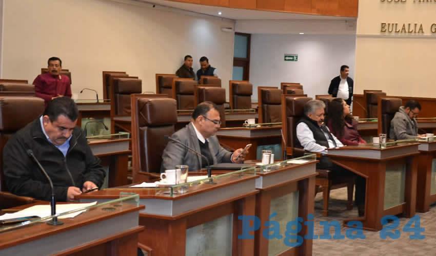 Legisladores Reciben las Ternas de Candidatos a Magistrados del TSJEZ