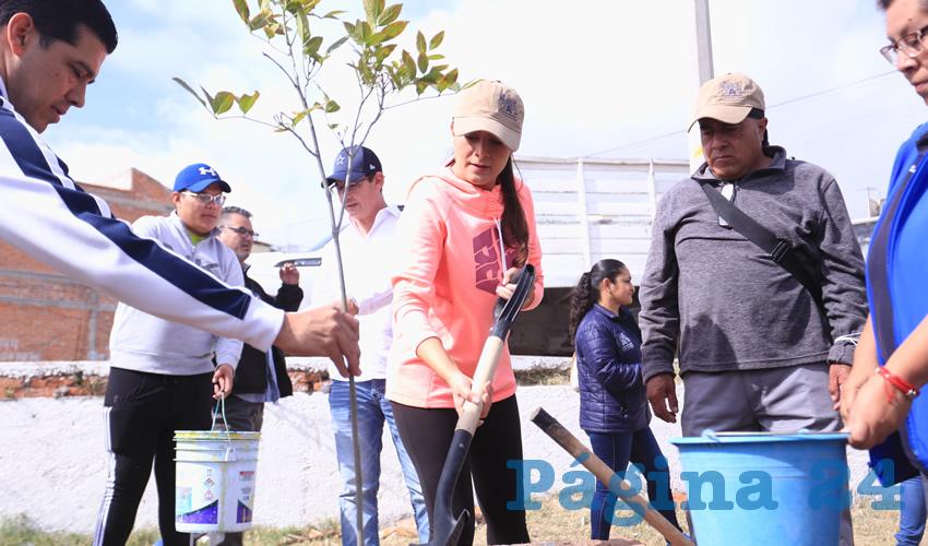 Encabezó Tere Jiménez Jornada  de Limpieza en Real de Haciendas