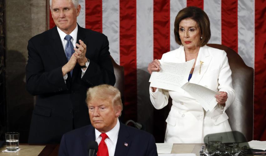 Trump da Discurso de Estado de la Unión Colgandose del T-MEC e Inmigrantes