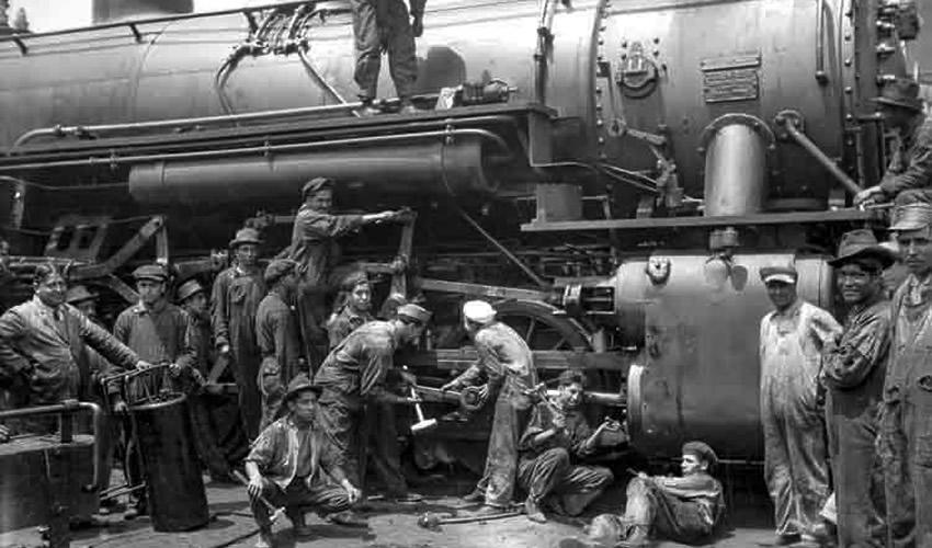 El Trabajo Obrero en los Inicios del Ferrocarril Mexicano