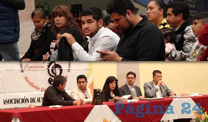 Piden a Autoridades Atiendan Demandas y Derechos de los Creadores