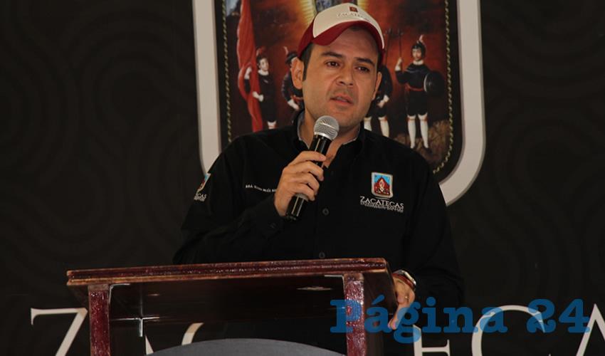 Ulises Mejía Haro, informó que él como presidente de este Consejo votó en contra del aumento (Foto Rocío Castro)
