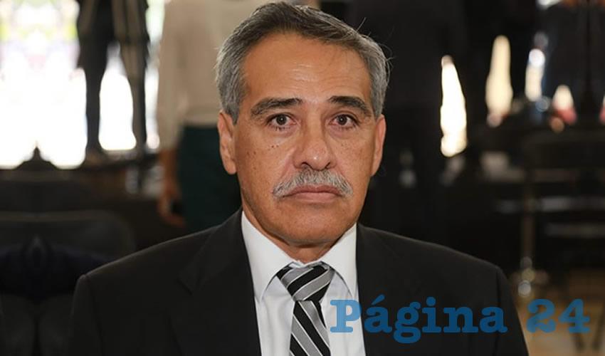 Miguel Ángel Piza Jiménez, director del ISSEA (Foto: Eddylberto Luévano Santillán)