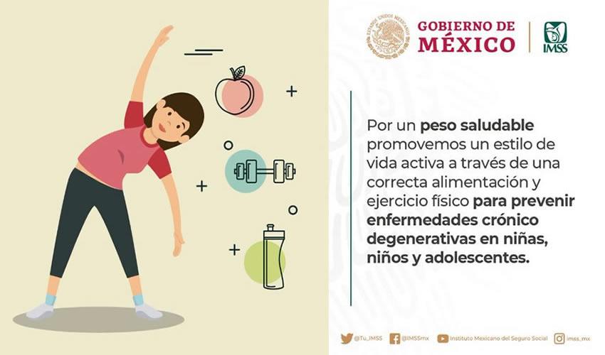 El personal del IMSS recorrerá primarias y secundarias para revisar peso, estatura, masa corporal y estado general de salud de cada menor
