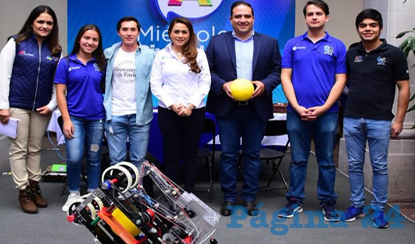 Tere Jiménez reiteró que cree en el talento de nuestros jóvenes, y en que ello se verá reflejado en grandes proyectos de beneficio para la comunidad