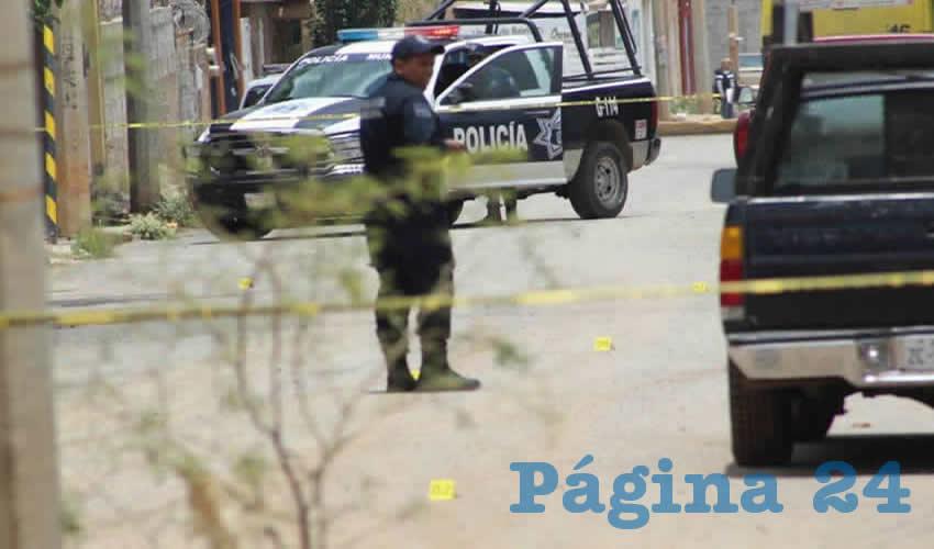 La movilización policía en la comunidad de San Ignacio