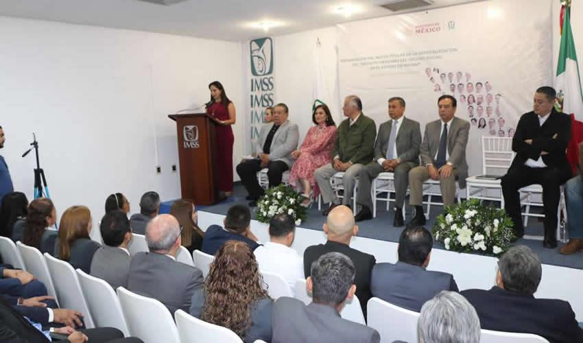 Asumen sus Funciones los 35 Representantes del  Instituto Mexicano del Seguro Social en los Estados
