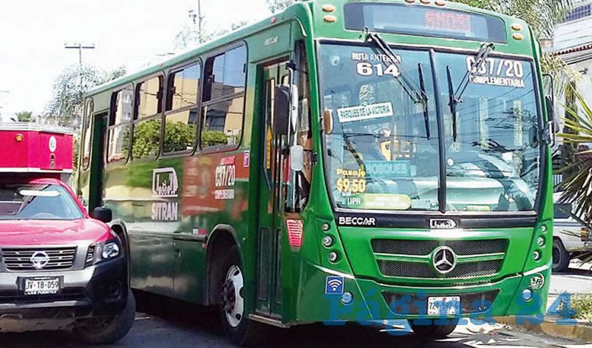 Rutas modernizadas no dan boleto a usuarios