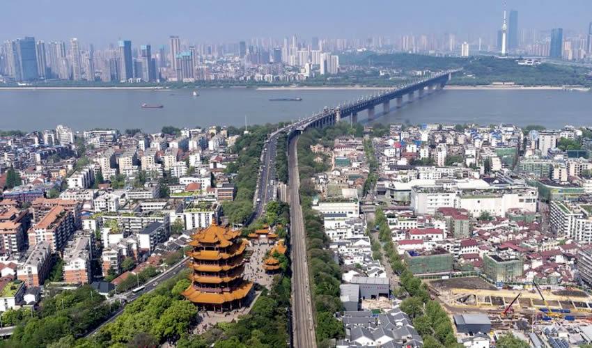 La ciudad de Wuhan, en China (Foto: Archivo/Xinhua)