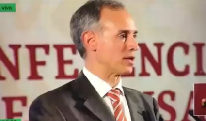 """La Mayoría de la Población Tendrá una """"Enfermedad Leve"""": Lopez-Gatell"""