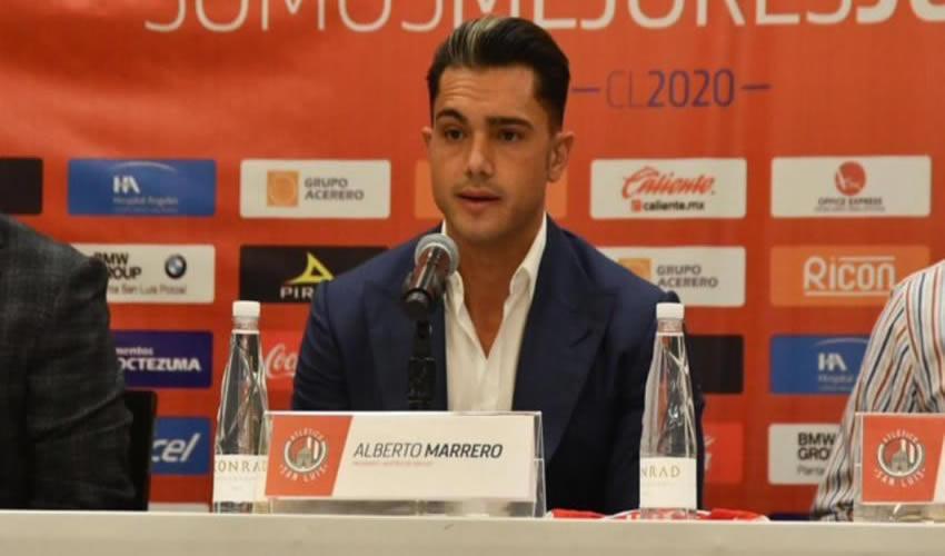 Alberto Marrero Díaz, presidente del club de fútbol Atlético de San Luis (Foto: Especial)