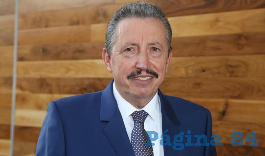 J. Asunción Gutiérrez Padilla, presidente de la CDHEA (Foto: Eddylberto Luévano Santillán)
