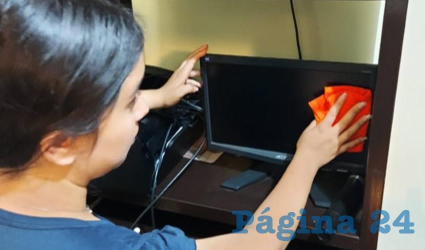 La institución aprovecha los recursos tecnológicos para que la comunidad estudiantil continúe realizando actividades extracurriculares