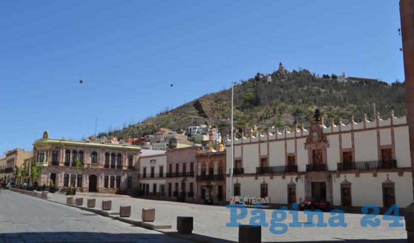 """El artículo primero señala: """"En Zacatecas seguirá siendo de observancia obligatoria la Jornada Nacional de Sana Distancia, en los términos que ordena la autoridad federal en materia de salud"""" (Foto Merari Martínez Castro)"""