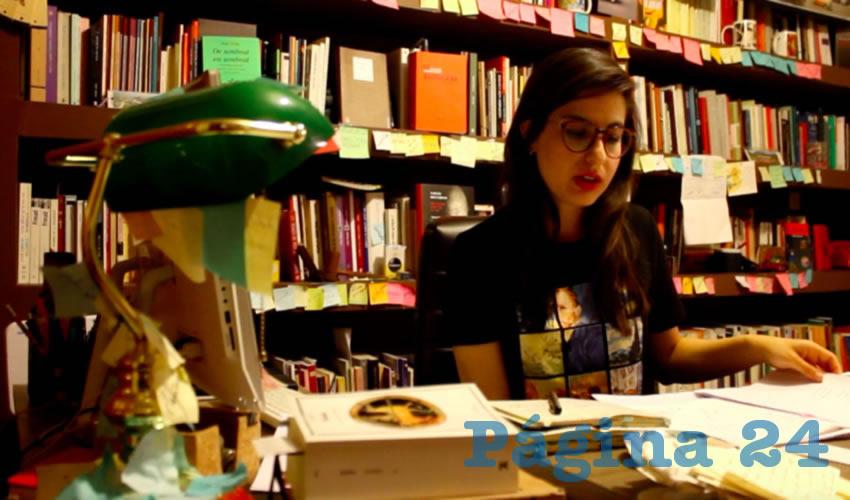 La zacatecana es beneficiaria del Programa de Estímulo a la Creación y Desarrollo Artístico de Zacatecas 2019-2020, en la categoría de jóvenes creadores
