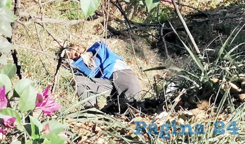 Hallan cadáver en La Duraznera